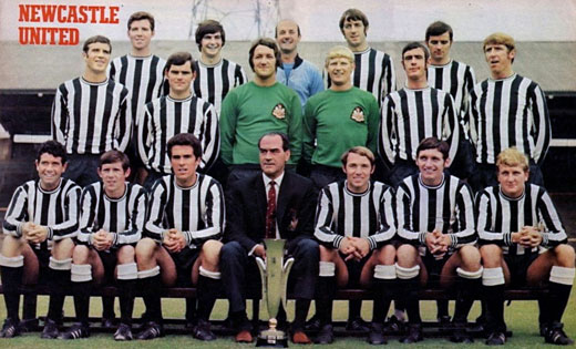 newcastle united fairs cup