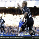 Newcastle fought back to stuns Everton at Goodison Park