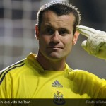 Shay Given did not think to leave Newcastle