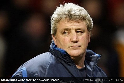 Steve Bruce has been linked for the third times as the next Newcastle United manager