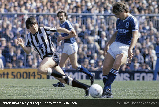 The One and Only Peter Beardsley