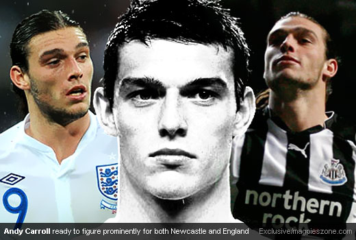 Andy Carroll Ready to Figure Prominently for Both Newcastle United and England