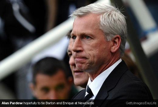 Alan Pardew can tie Barton and Enrique down to new deals?