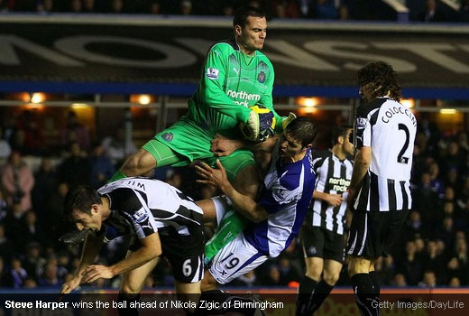Newcastle United looking ahead a double against Birmingham City