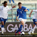 Davide Santon during the international friendly match Italy U21 and England U21 [Magpies Zone/GettyImages/DayLife]
