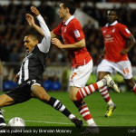 Carling Cup third round seven goals thriller at City Ground