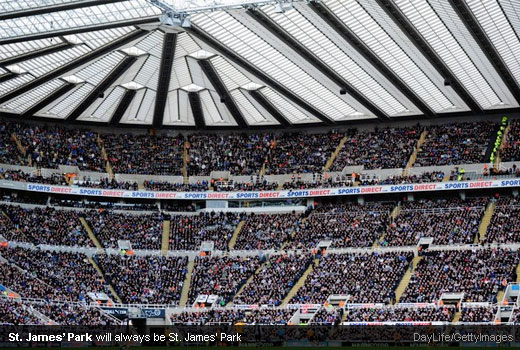 St. James' Park will always be St. James' Park