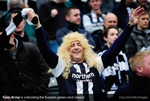 Toon Army is welcoming the Eurpean games next season