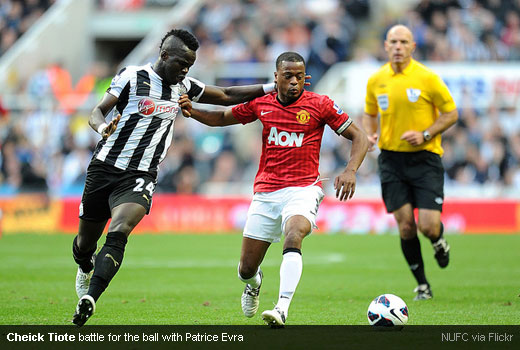 Cheick Tiote 10102012
