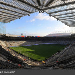 St. James' Park is back again