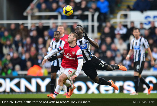 Cheick Tiote 31122013