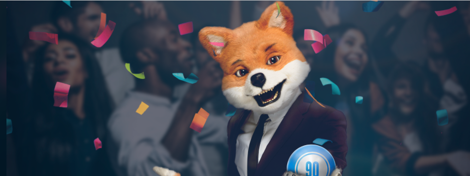 Welcome bonus at Foxy Bingo